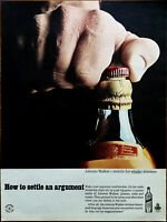 Johnnie Walker Strictly for Whiskey Drinkers, How to Settle An Argument Ad 1965