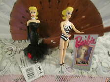 New - Vintage Barbie Key Chains Set of Two
