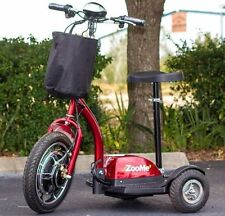 NEW ZOOME 3-Wheel Recreational Electric Mobility Scooter Red 350W