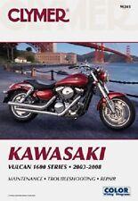 CLYMER MANUAL KAWASAKI VULCAN 1600 NOMAD 05-08, MEAN STREAK 04-08, CLASSIC 03-08