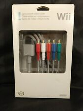 New listing Official Oem Wii Component Video Cable by Nintendo
