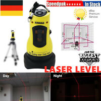 360° Self-leveling Cross Laser Level 2 Line Horizontal Vertical for ZH-SL202 DE
