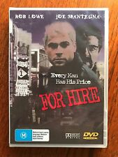 For Hire DVD Region All New & Sealed Rob Lowe