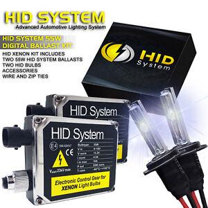 for Cadillac 55W Ballast Xenon Headlight HID KIT H3 H10 H11 H13 9006 9007 9005