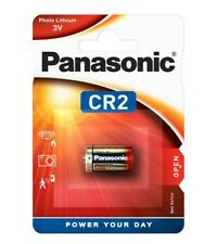 1 X PANASONIC CR2 3V  LITHIUM CAMERA PHOTO BATTERY DLCR2 ELCR2 KCR2