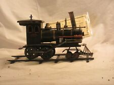 Thomas Pacconi Classics 1850s Wood Burning Standard Gauge Steam Locomotive