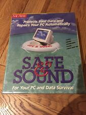 McAfee - Safe & Sound - Data Protection & PC Repairs - Software - New & Sealed