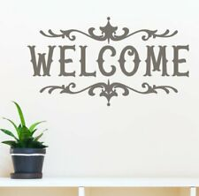 Welcome Wall Decor Stickers Vinyl Lettering Home Room Art Best Modern Decals