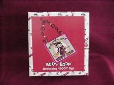 BETTY BOOP HALLOWEEN WITCH HANGING SIGN  (RETIRED ITEM)