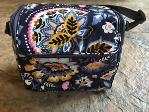 Vera Bradley CHARMONT MEADOW Stay Cooler Lunch Bag Camera Bag Authentic NWT NEW