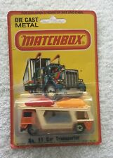 Matchbox 11, Car Transporter, 1978 Mint on a card, Lesney Products, England