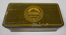 boite machine a coudre BERNINA antique colector  sewing machine box