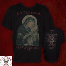 "BATUSHKA LITOURGIYA ""MARY BLACK"" OFFICIAL T-SHIRT Батюшка STRICT LIMITED Ltd"
