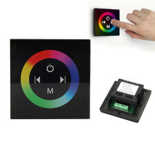 Single/RGB/RGBW LED Touch Panel Dimmer Controller Wall Switch for Strip Lights