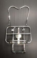 Soporte Rack Trasero/Trasera Cromo De 2 vías (Rueda de Repuesto/Rack) para Vespa PX por Cuppini