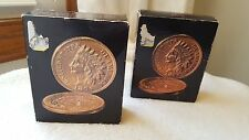 Vintage Avon Indian Head Penny, Tribute after shave bottle, in box