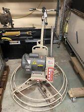 "Multiquip EDCO 36"" Power Trowel Electric T364-3B Nice 3 Hp concrete finish"