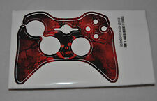 Gears of War 3 SKIN IT - XBOX 360 Controller Cover - Red - Crimson OMEN - RED