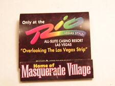 Vintage advertising match book for the Rio Casino Resort, Las Vegas