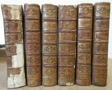 CERVANTES HISTOIRE DE L'ADMIRABLE DON QUICHOTTE 1781 en 6 VOL. ILLUSTRES COYPEL