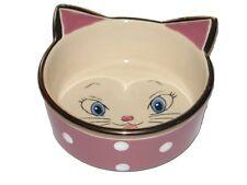 Ceramic Cat Face Cat Bowl