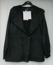 Ladies Marks and Spencer Activewear Black Stormwear Outdoor Zip Jacket Size 16