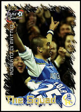 Roberto Di Matteo #22 FUTERA Chelsea Football 1999 TRADE card (c336)