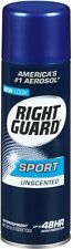 Right Guard Sport Anti-Perspirant Deodorant Spray Unscented 6 oz (Pack of 7)
