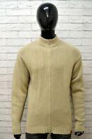 Maglione TIMBERLAND Uomo Pull Taglia L Pullover Sweater Maglia Lana Cardigan