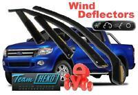 FORD RANGER 4D  2012 -  Wind deflectors 4.pc  HEKO  15304