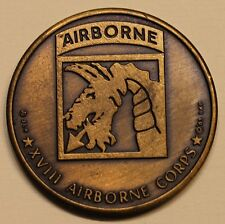 18th Airborne Corps XVIII SINAI Logistic Support Army Challenge Coin
