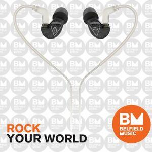 Behringer SD251-CK Black Studio Monitoring Earphones In-Ear Monitors - Brand New