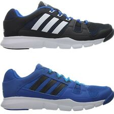 Adidas Fitnessstudio Schuhe Gym Warrior blau schwarz Herren Sport Running NEU