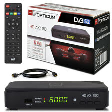 FULL HDTV Digital SAT Receiver OPTICUM AX150 AX 150 DVB-S2 HD Scart + HDMI Kabel