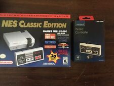 Nintendo NES Classic Edition Mini Console 30 Games System  Extra Controller