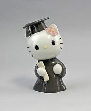 Porcelaine Hello Kitty en train de Remise des diplômes Nao Lladro Espagne