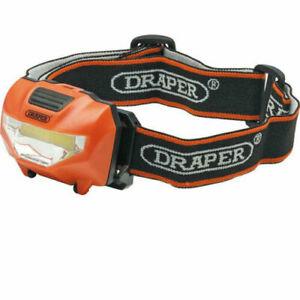 Draper 3W COB LED Head Torch