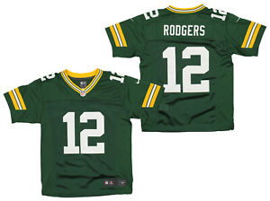 Nike NFL Youth (8-20) Green Bay Packers Aaron Rodgers #12 Limited Jersey