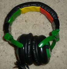 Skullcandy G.I. Headband Headphones (Green/Multi-Color)