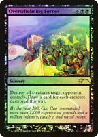 Overwhelming Forces Near Mint Foil English Magic Card Promotional Cards MTG TCG