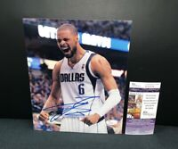 TYSON CHANDLER DALLAS MAVERICKS NBA SIGNED 8X10 PHOTO W/JSA COA