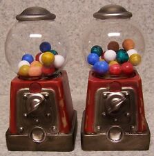 Bookends Memories of Youth Gumball Machine Pair Book Ends NEW