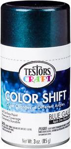 Testors Color Shift Paint 3oz-Blue Galaxy