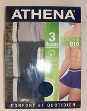 lot de 3 boxers Athena neufs taille 5/XL en coton bio