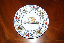 Vintage Caroline Moore For Dutch Pantry Restaurant Medium Wall Cabinet Plate #4