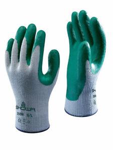 SHOWA 350R Thorn Master Tough Nitrile Palm Grip Gloves Gardening Tear Resistant
