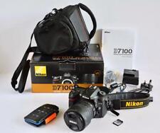 Nikon D7100 18-105mm KIT DSLR Boxed MINT LOW actuations EXTRAS BUNDLE