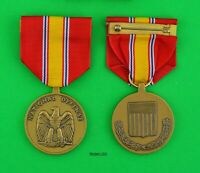 VINTAGE NATIONAL DEFENSE MEDAL-KOREA-VIETNAM-PERSIAN GULF-GLOBAL WAR