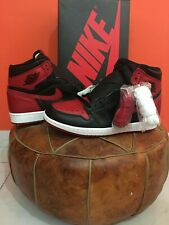 **AIR JORDAN 1 RETRO HIGH OG BANNED (2016) SZ 10US w/ RECEIPT SUPER LIMITED DS**