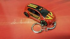 Diecast Vw Volkswagon Golf GTi MkV Mk5 Custom  Red Toy Car Keyring Keychain
